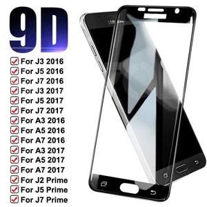 9D закаленное стекло для Samsung Galaxy S7 A3 A5 A7 J3 J5 J7 2016 2017 J2 J5 J7 Prime J4 Core защита для экрана защитное стекло