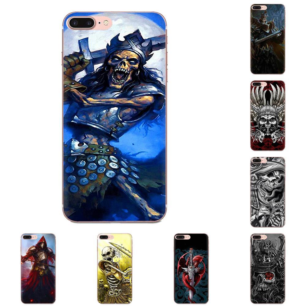 Cráneo guerreros cráneo guerreros Samurai para Huawei Nova 2 V20 Y3II Y5 Y5II Y6 Y6II Y7 Y9 G8 G9 GR3 GR5 GX8 primer 2018 de 2019