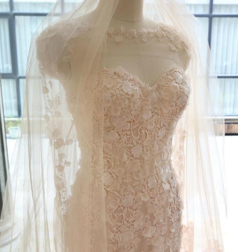 Precioso vestido De Novia sin hombros con escote Corazón, cola De barrido...