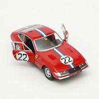 bburago 124 ferrari 365 gtb4 competizione 1a serie alloy luxury vehicle diecast pull back car goods model toy collection