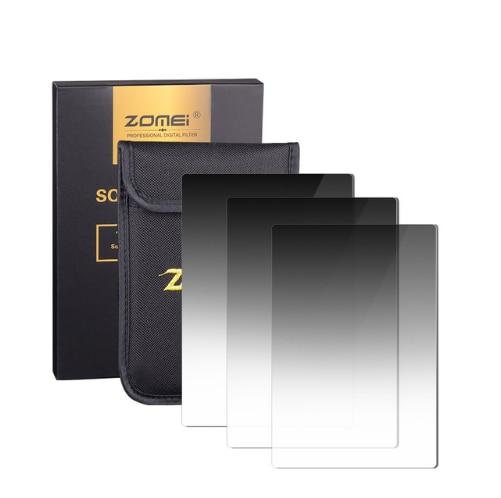 Zomei-مرشح 3 في 1 متدرج اللون ، كثافة محايدة ، رمادي متدرج ، ND 100*150 مللي متر مربع ، GND ND16 ND4 ND8 ، لسلسلة حامل Cokin Z Lee