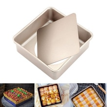 8,5 In Platz Kuchen Pan Tray Mold Deep Dish mit Abnehmbare Lose Bottom Nicht-Stick Platz Backformen für Ofen backen Zubehör