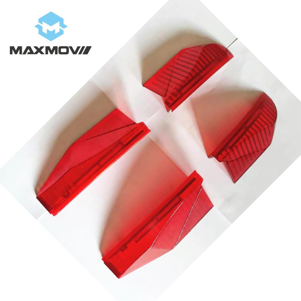 Kugoo Mini patinete de pie Pedal de luz roja cáscara (1 juego = 4 uds)
