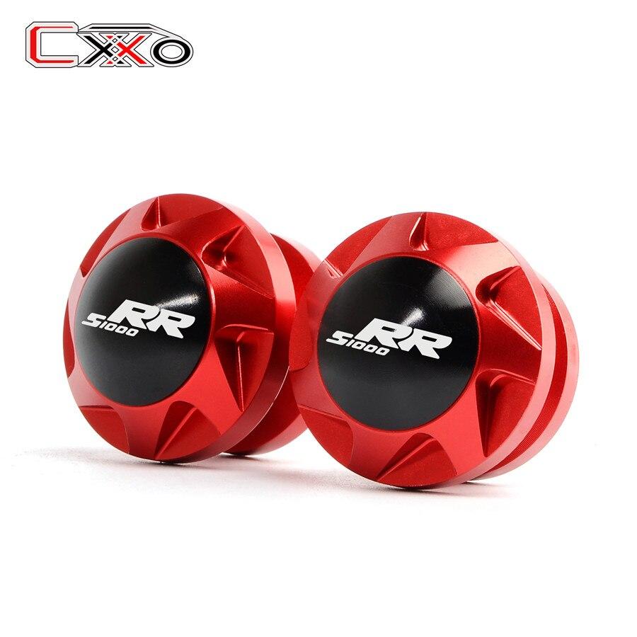 Tornillos para BMW S1000XR S1000RR S1000 RR S S1000 XR, accesorios para motos, basculante de soporte deslizador de bobinas
