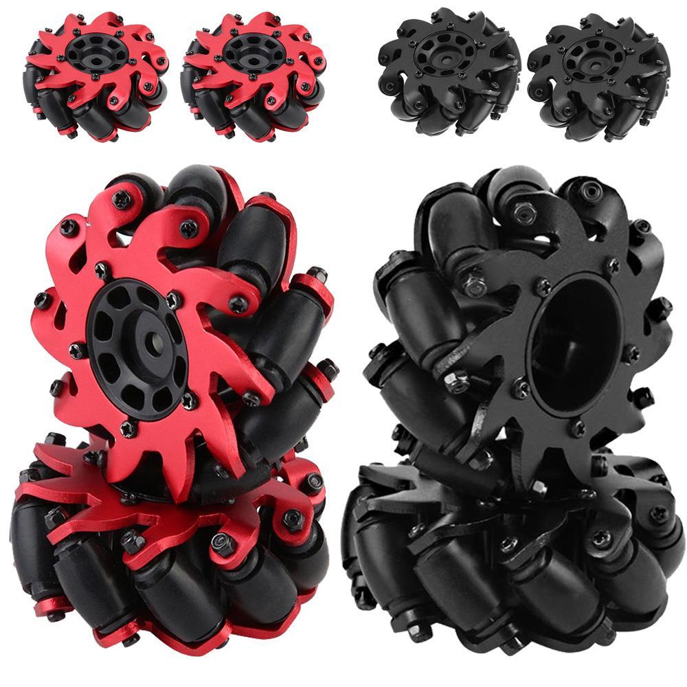 HobbyLane 2PCS/Set Remote Control Toy Car Mecanum Wheel Universal Omnidirectional Wheel