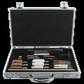 Универсальный Набор аксессуаров для чистки винтовки, кисти в комплекте в алюминиевой коробке, инструмент и чехол - фото