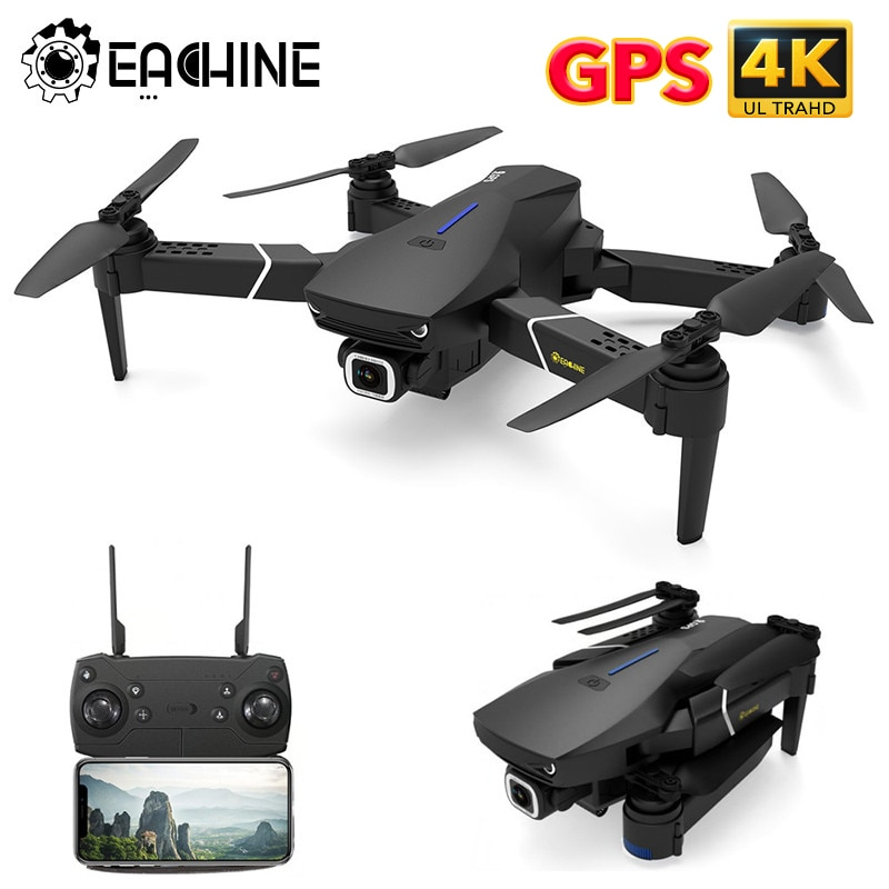 Eachine E520S RC Quadcopter Drone Helicopter with 4K Profesional HD Camera 5G WIFI FPV Racing GPS Wi