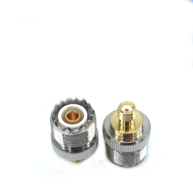 ¿Adaptador de conector, Coaxial de RF hembra un para UHF-239 SO239 un...