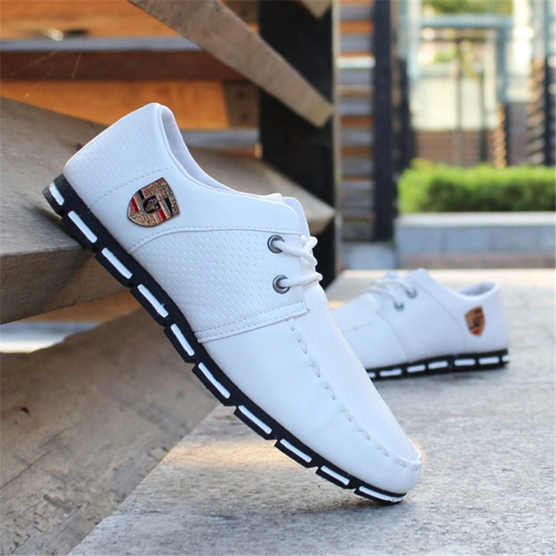 2021 Brand New Fashion Men Loafers Men Leather Casual Shoes High Quality Adult Moccasins Men Driving Shoes Male Footwear Unisex