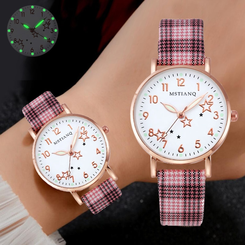 Watch Women Fashion Simple Small Dial Ladies Wrist Watches Luminous Women Watches Casual Leather Strap Japan Quartz Dress Clock fashion simple ladies wrist watches luminous women watches casual leather strap quartz watch clock montre femme luxury gift