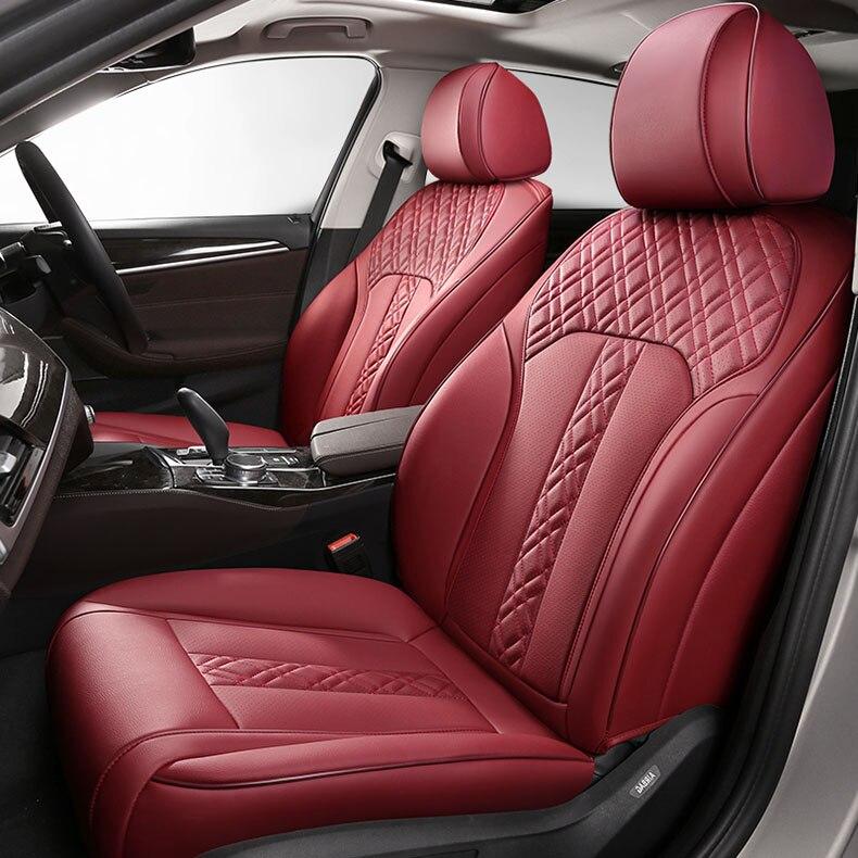 Funda de asiento de cuero de vaca personalizada para Lexus RX270 RX 300 RX350 RX450h RX330 GS300 GS350 ES LS NX CT200h IS RC, funda de accesorios para coche