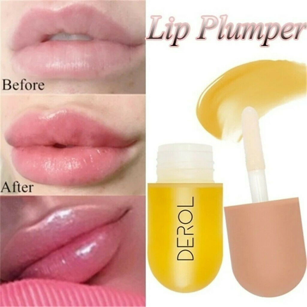 5ml rich lips, instantly bright and rich, reduce fine lines serum oil mask Moisturizing Lip Care sexy fat essence. lip plumper  - buy with discount