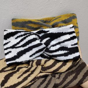 2020 New Knitted Knot Headband Head Wrap Ear Hair Band Winter Crochet Turban Women Ladies