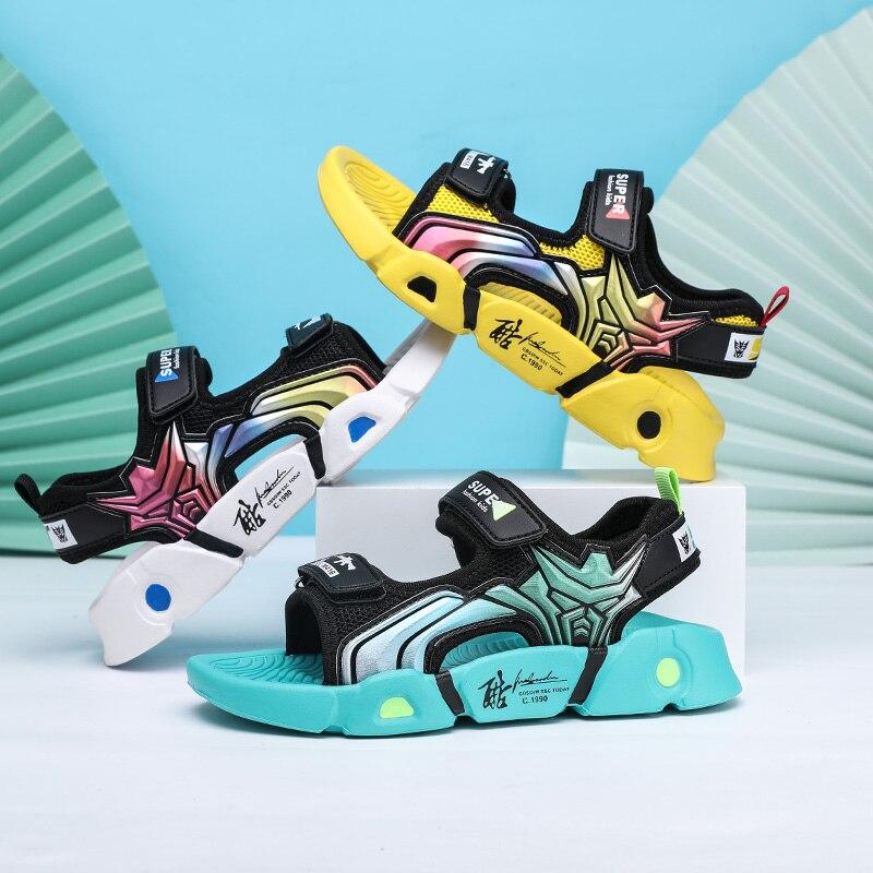 Одежда для маленьких мальчиков; Летние детские сандалии Eva с мягкой подошвой; Детская модная пляжная обувь смешанных Цвет для маленького мальчика повседневные сандалии 2021 Новый|Сандалии| | АлиЭкспресс