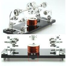 Motore Brushless Mini Hall fai-da-te 5V 3000-6000 giri/min levitazione magnetica a 3 punti sensore Hall ad alta velocità Drive piccolo motore per Hobby fai da te