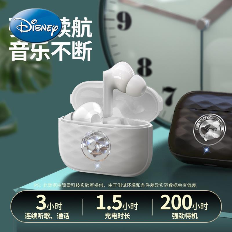 Disney Mickey Mouse Headset for Apple Xiaomi Oppo Huawei Bluetooth-compatible Sports Running Headset enlarge