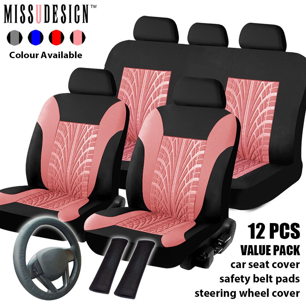 Universal Fashion Styling Protector Full Set Combo Pack & 2 Front Seats...