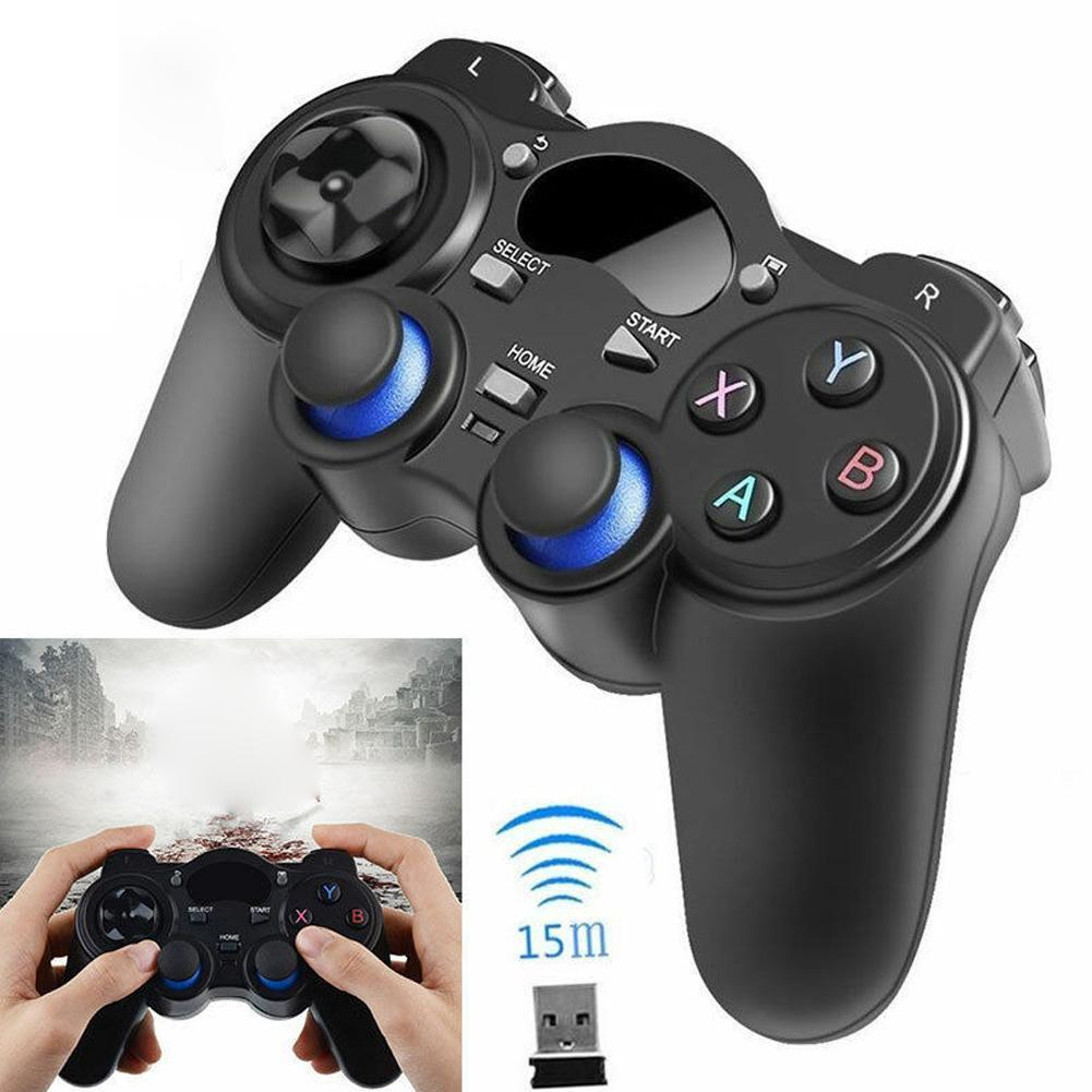 1x Wireless Bluetooth Gamepad Game Controller For Android PC Box TV Impact Geshin Phone For PUBG Tablet Mobile I0S7