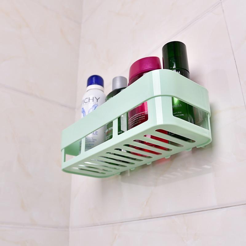 Organizador de Accesorios de baño verde, estante nórdico para el espacio del...
