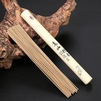 40 Pieces boite Naturel Dencens De Bois De Santal Sommeil Dete Maison Essentiel 21cm Baton Dencens Dinterieur Dinterieur Ceremonie Encens Bouddha