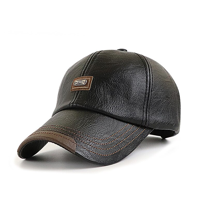 New Men's Baseball Caps For Fall/Winter Trend In Europe And America Fashion Simple Warm  Outing Hats