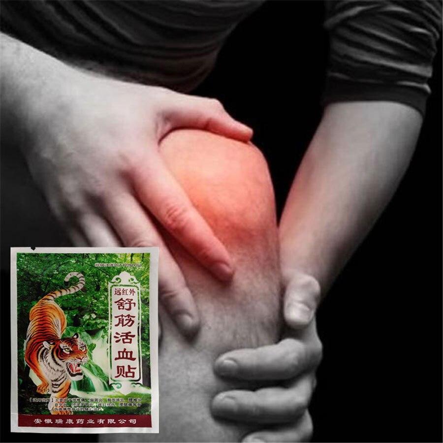 24 pçs tiger bone remendo alívio da dor infravermelho distante anti-inflamatório analgésico pasta remendo dor liberação relaxante massagem emplastros