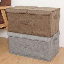 Nowe formy składane pudło do przechowywania duża torba organizatorzy doskonale nadaje się do zabawki, ubrania koce organizador zamek błyskawiczny pudełko