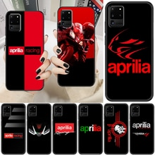 racing aprilias motorcycle logo Phone case For Samsung Galaxy Note 4 8 9 10 20 S8 S9 S10 S10E S20 Pl