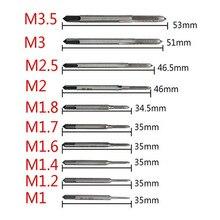 Taraudage/filetage/robinets/attaque M1 M1.2 M1.4 M1.6 M1.7 M1.8 M2 M pièces/ensemble M 3 M3.5, 10 2.5 outils à main