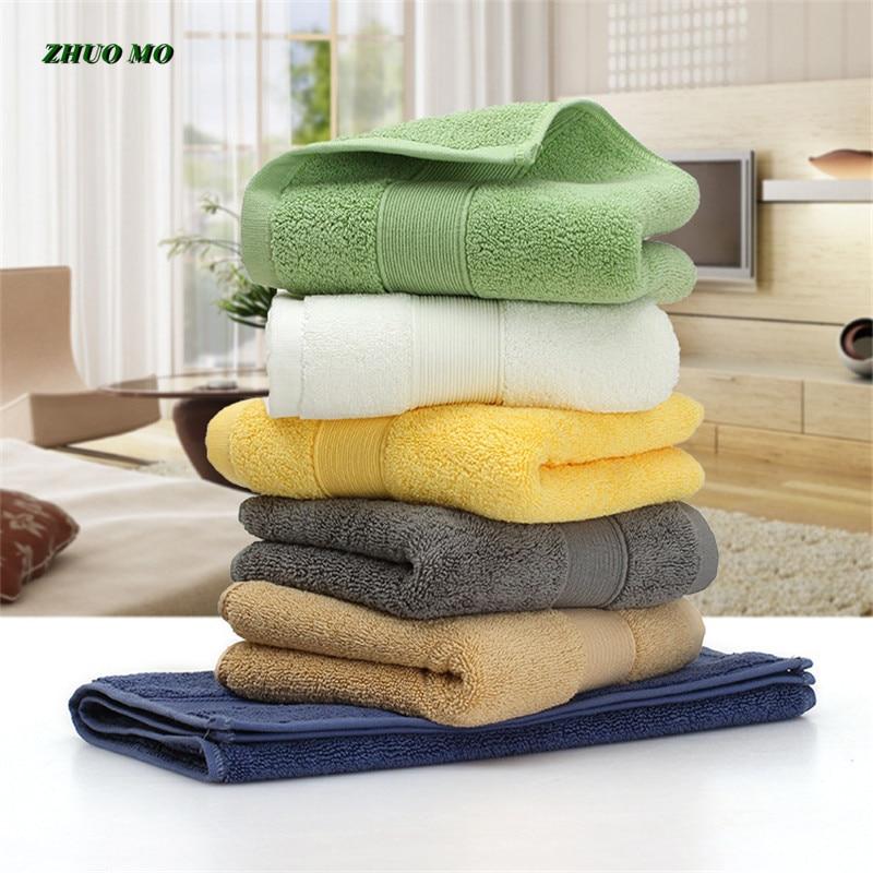 2 قطعة القطن المصري منشفة الحمام زوجين هدايا بلون الرياضية منشفة 5 ستار فندق للمنزل عالية الجودة 36*76 سنتيمتر الوجه المناشف