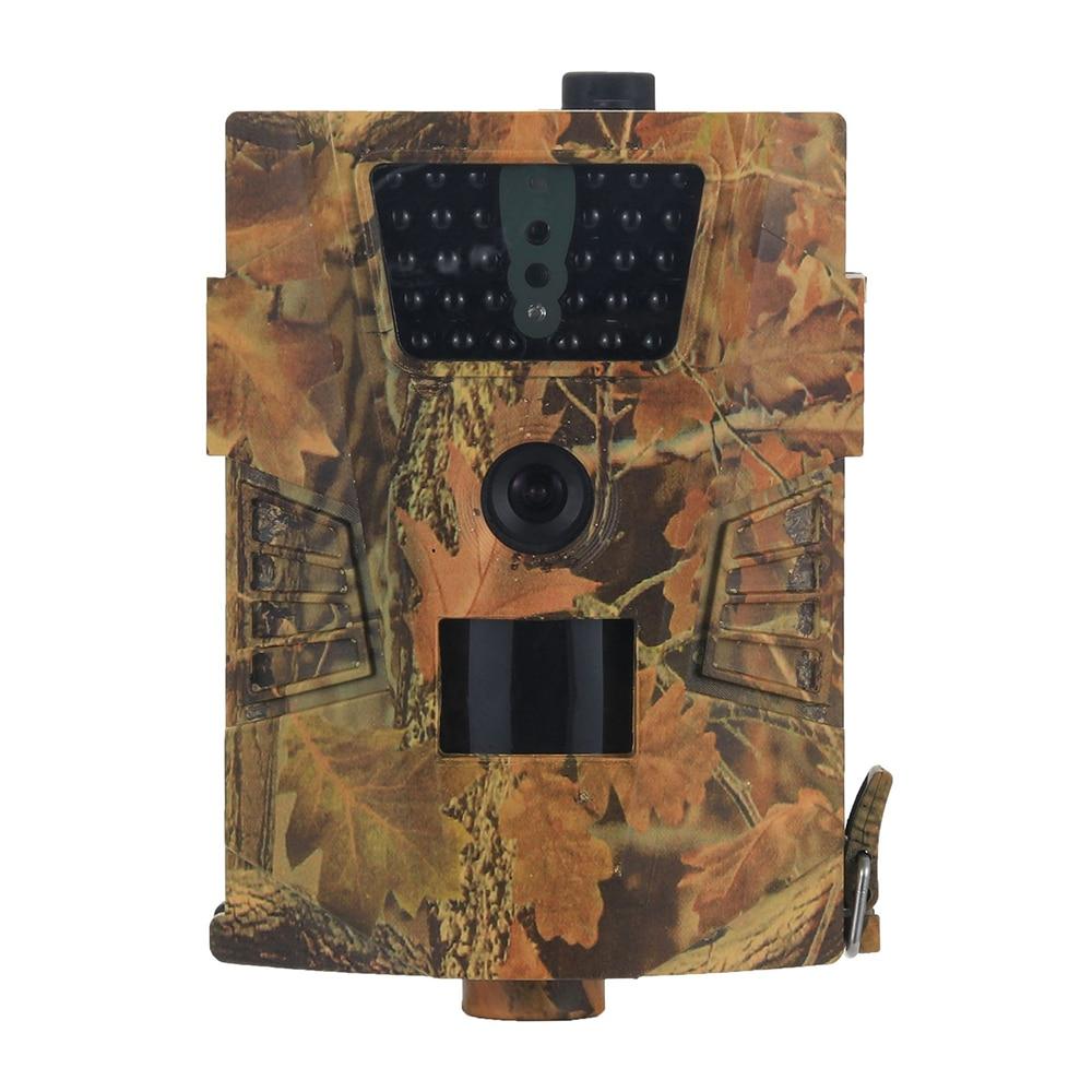 HT-001B cámara de rastro 12MP 1080P 30 Uds LED infrarrojos 850nm cámara de caza IP54 impermeable 120 grados ángulo Wild Video cámara