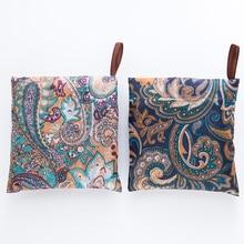 Magic Folding Shopping Bag Eco Friendly Ladies Gift Foldable Reusable Tote Bag Portable Travel Shoulder Bag Small Size