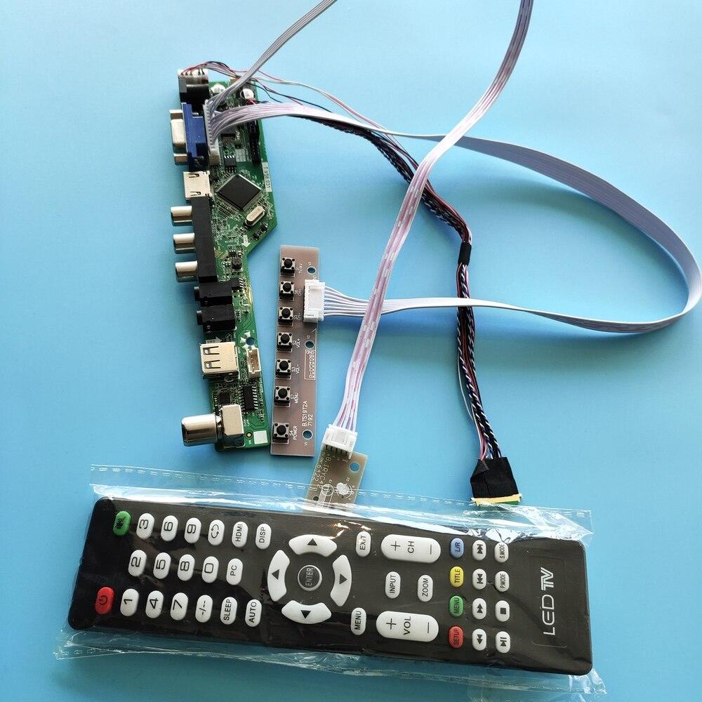 عدة ل LTN173KT03 التلفزيون AV لوحة شاشة LCD LED VGA البعيد 1600X900 USB 40pin LVDS 17.3