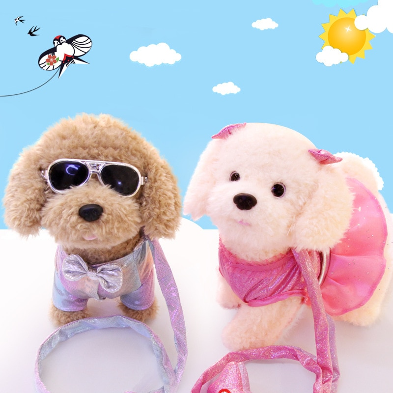 Милые игрушки электрическая умная собака Робот щенок Зумер собака говорящая собака ходячая игрушка для маленьких живых домашних животных