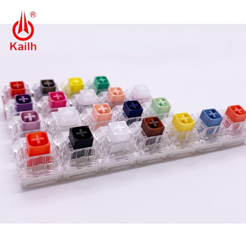 Kailh 21 шт. набор механических переключателей клавиатуры для китайского стиля/Hako/Royal/box тяжелые 3 контакта для тестирования