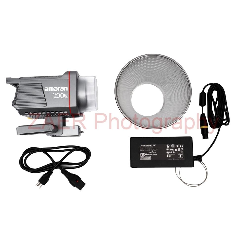 Amaran Aputure 100D 200D 100X 200X Studio Light 5600K 2700-6500K 100W 200W Photography Lighting For Camera Video Photo Light