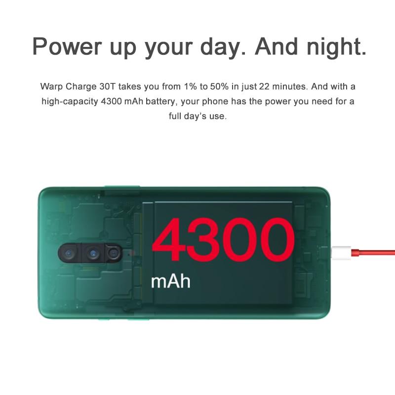 Фото5 - Смартфон Oneplus 8, телефон с глобальной прошивкой, Официальный магазин OnePlus, Восьмиядерный процессор Snapdragon 865, 8 Гб 128 ГБ, экран 6,55 дюйма 90 Гц, заря...