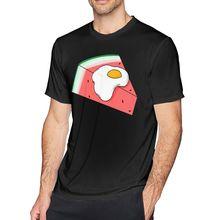Watermelon T Shirt Egg Melon T-Shirt 100 Cotton Classic Tee Shirt Short Sleeve Graphic Man 6xl Cute Tshirt