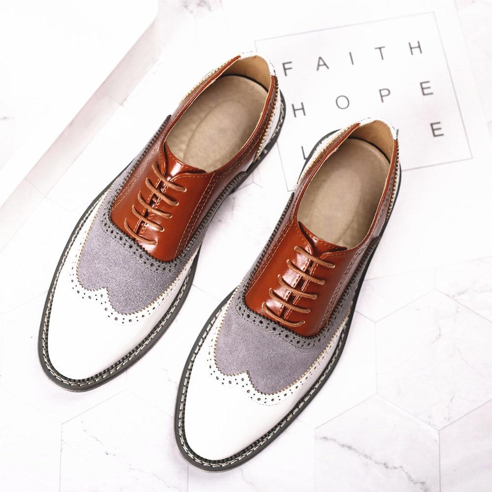 Мужские классические кожаные туфли на шнуровке, Свадебная обувь для вечеринки, мужские классические туфли броги, мужские деловые офисные о...