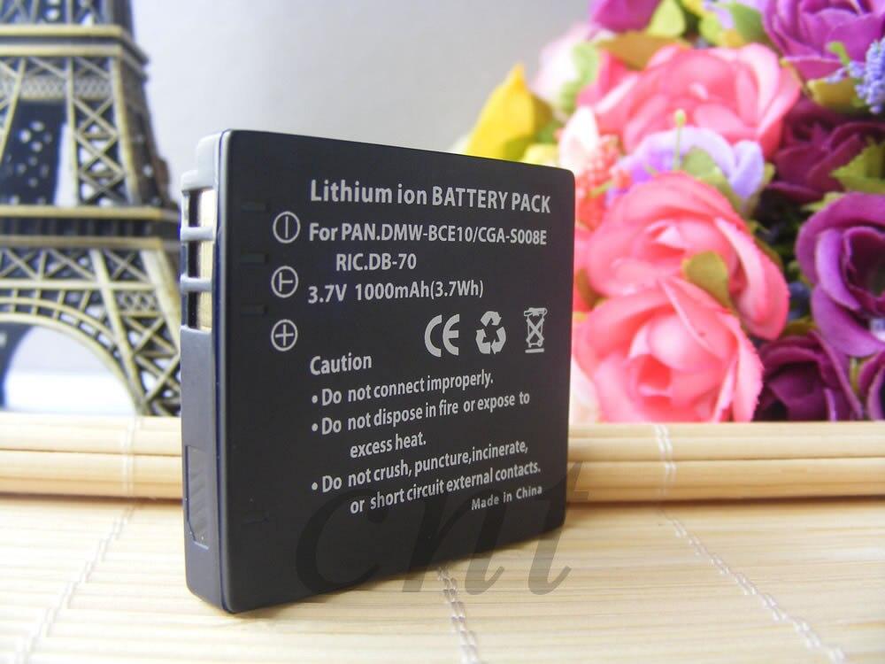 Bateria para Panasonic SDR-S15 SDR-S26 SDR-S7 VW-VBJ10 SDR-S10 SDR-S15 SDR-S26
