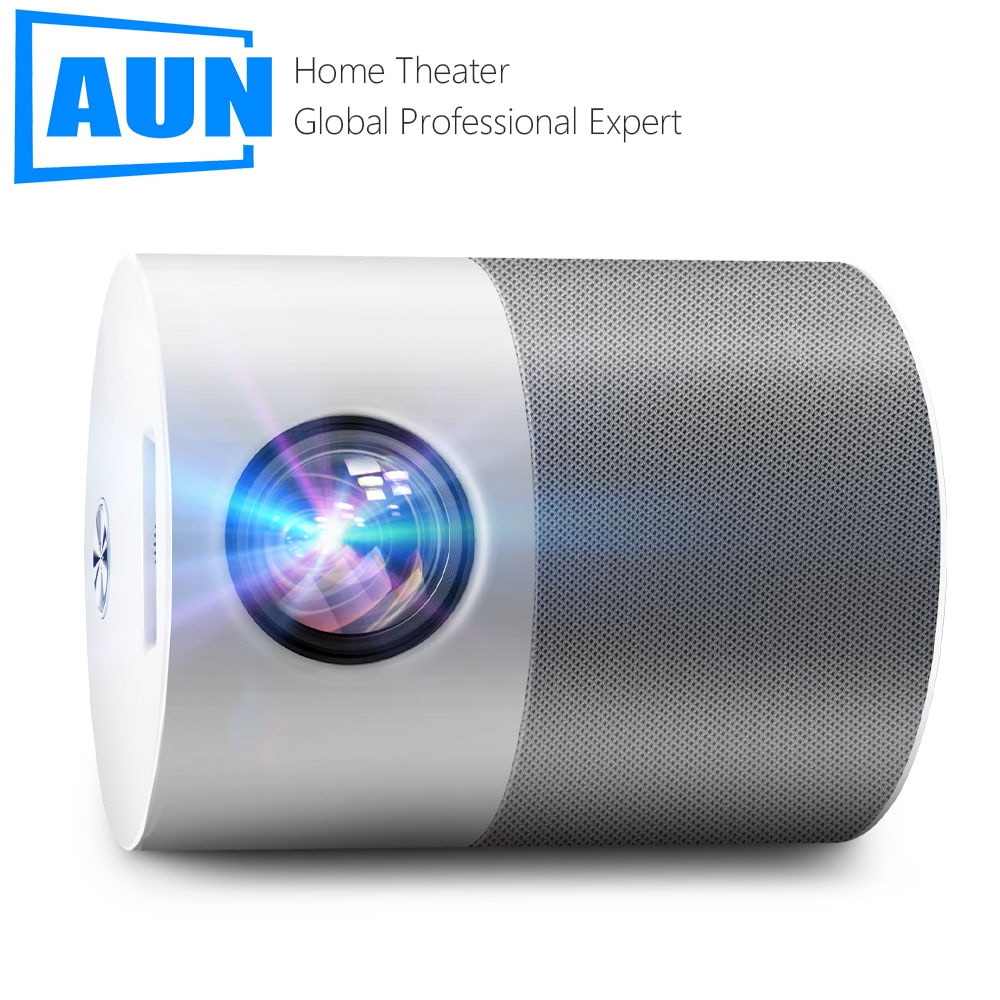 AUN ET40 Projector Full HD LED Beamer Android 9 MINI Projector 4k Decoding Videoprojector LED TV for