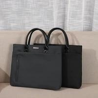 ladies business bag 14 inch waterproof leather briefcase ladies tote bag luxury designer fashion brand handbag