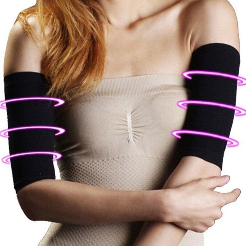 1 par de manguitos para perder peso, piernas delgadas para mujeres, faja reductora, cinturón para el brazo, para el brazo caloría, calentadores para el brazo reductores de grasa