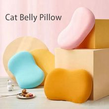 Cat Belly Pillow Creative Protect Cervical Spine Slow Rebound Memory Foam Deep Sleep Pressure Relief