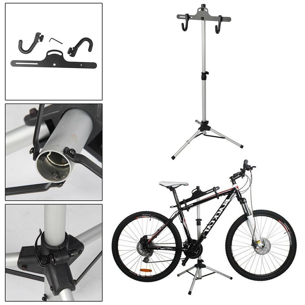 70-132 سنتيمتر دراجة إصلاح حامل حامل دراجة الميكانيكا Workstand دراجة الطريق أدوات إصلاح الطابق عرض موقف مسنده