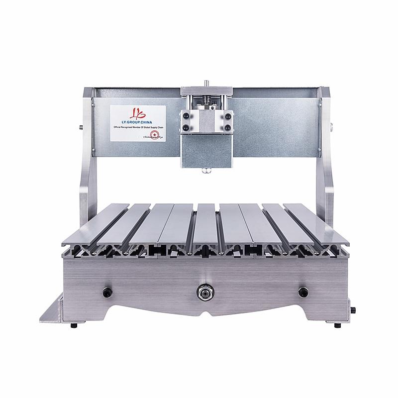 CNC 3040Z marco de la máquina de grabado con tornillo de bola 4030 CNC Router para entusiastas del bricolaje