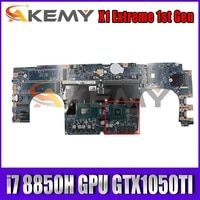 for x1 extreme 1st gen laptop motherboard 17870 1 448 0dy05 0011 cpu i7 8850h gpu gtx1050ti fru 01yu951 01yu959 mainboard