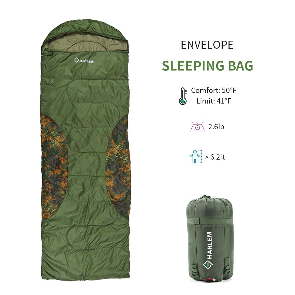 Calor ao ar livre isolamento saco de dormir acampamento saco de dormir pacote de armazenamento envelope saco de dormir material saco para viagens caminhadas