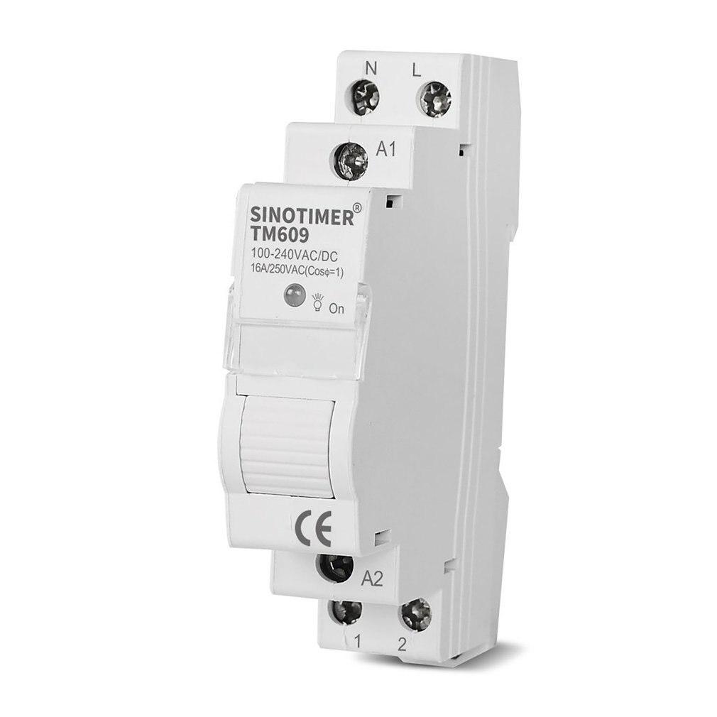 Home Smart 18 مللي متر 1P WiFi عن بعد APP التحكم قطاع دارة توقيت التبديل الدرج الموقت Din السكك الحديدية العالمي 110 فولت 220 فولت التيار المتناوب المدخلات