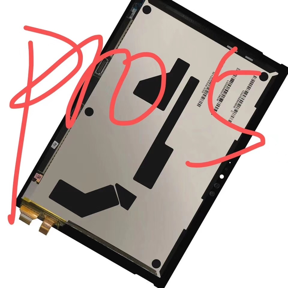 100% Test LCD For Microsoft Surface Pro 5 1796 LP123WQ1(SP)(A2)Touch Screen Digitizer Assembly Replacement For Microsoft Pro 5